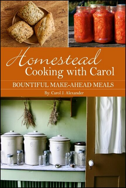 homestead cooking with carol