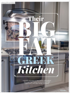Their Big Fat Greek Kitchen | Carol J Alexander
