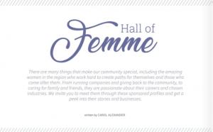 Hall of Femme | Carol J Alexander