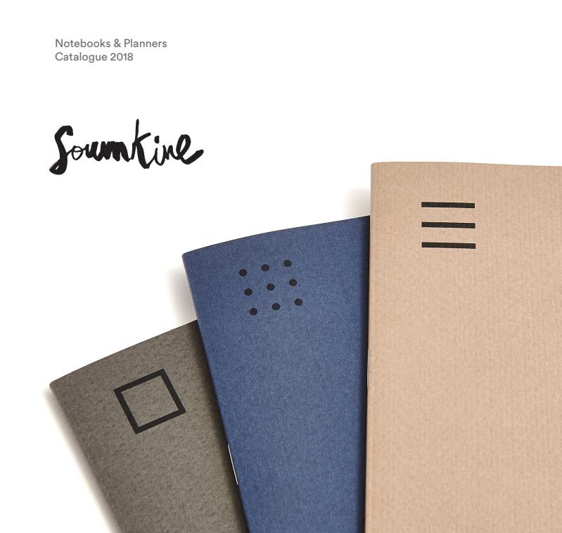 Soumkine Notebooks Catalogue 2018 | Carol J Alexander