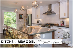 Kitchen Remodel Reveals Hidden Secret | Carol J Alexander