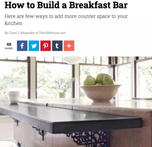 How to Build a Breakfast Bar | Carol J Alexander
