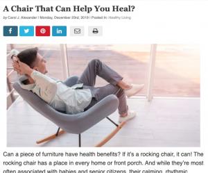 Health Benefits of Rocking Chairs | Carol J Alexander