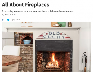 All About Fireplaces | Carol J Alexander